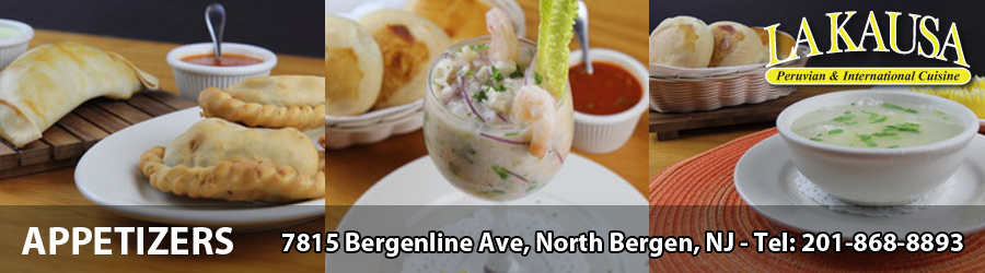 Restaurant in North Bergen, New Jersey - Peruvian and Chilean cuisine
